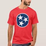 Bandera de Tennessee Playera