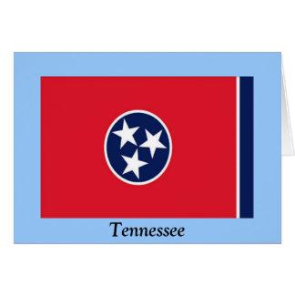 Bandera de Tennessee Tarjeta De Felicitación