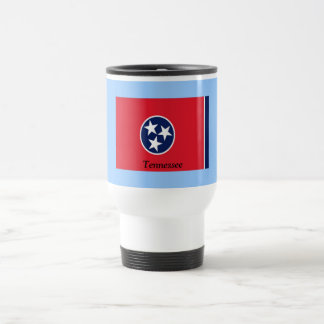 Bandera de Tennessee Taza De Viaje De Acero Inoxidable