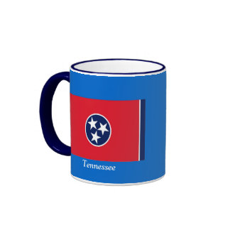 Bandera de Tennessee Taza A Dos Colores