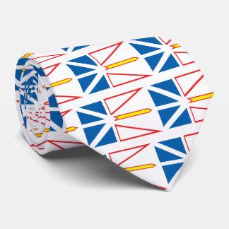 Bandera de Terranova Corbatas Personalizadas