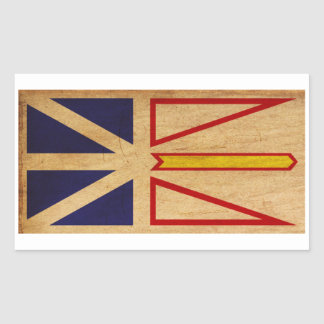 Bandera de Terranova Pegatina Rectangular