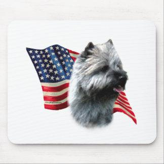 Bandera de Terrier de mojón Alfombrilla De Ratón