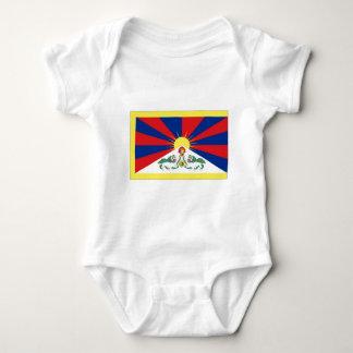 Bandera de Tíbet Body Para Bebé
