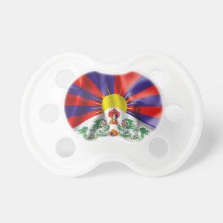 Bandera de Tíbet Chupetes De Bebe