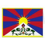 Bandera de Tíbet Felicitaciones