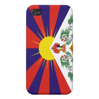 Bandera de Tíbet iPhone 4 Cobertura