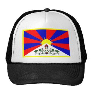 Bandera de Tíbet Gorro De Camionero