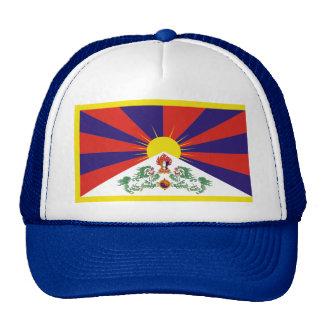 Bandera de Tíbet Gorros Bordados