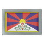 Bandera de Tíbet Hebilla De Cinturón