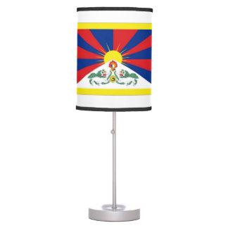 Bandera de Tíbet Lámpara De Escritorio