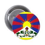 Bandera de Tíbet Pin