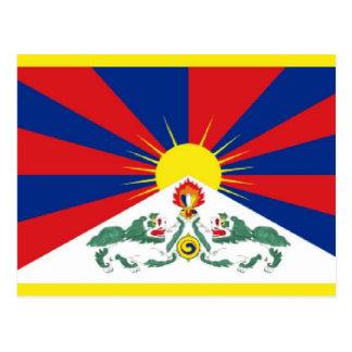 Bandera de Tíbet Postal
