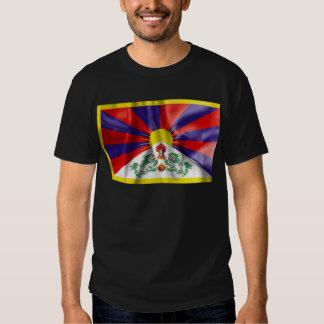 Bandera de Tíbet Remeras