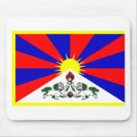Bandera de Tíbet Tapete De Ratón