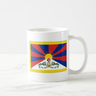 Bandera de Tíbet Taza Clásica