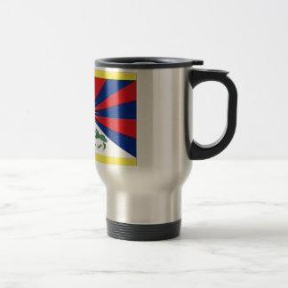 Bandera de Tíbet Taza Térmica