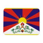 Bandera de Tibetese Imanes Flexibles