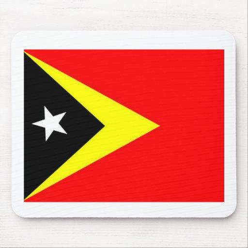 Bandera de Timor Oriental Alfombrilla De Raton