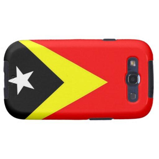 Bandera de Timor Oriental Samsung Galaxy S3 Carcasas