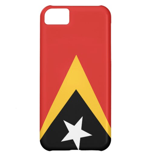Bandera de Timor Oriental Funda Para iPhone 5C