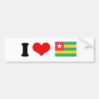 Bandera de Togo Pegatina Para Auto