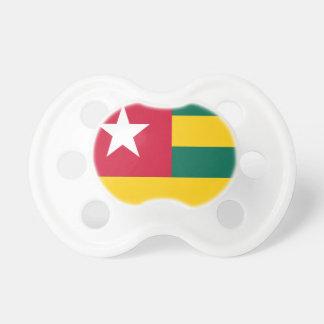 Bandera de Togo Chupetes Para Bebés