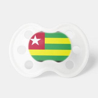 Bandera de Togo Chupetes Para Bebes