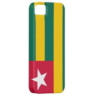 Bandera de Togo iPhone 5 Case-Mate Cárcasas