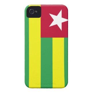 Bandera de Togo iPhone 4 Protectores