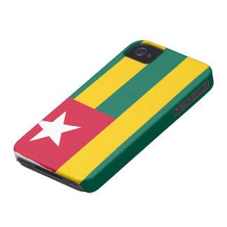 Bandera de Togo iPhone 4 Cobertura