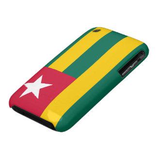 Bandera de Togo iPhone 3 Protectores