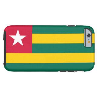 Bandera de Togo Funda De iPhone 6 Tough