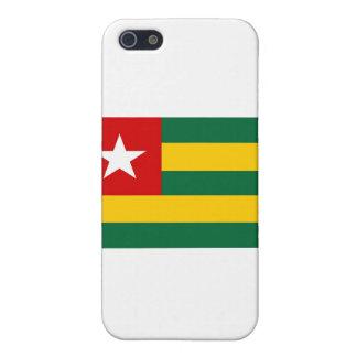 Bandera de Togo iPhone 5 Protectores