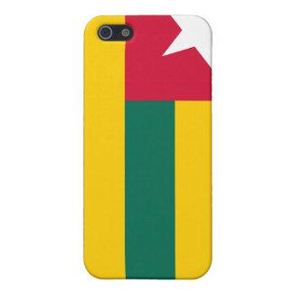 Bandera de Togo iPhone 5 Cárcasa