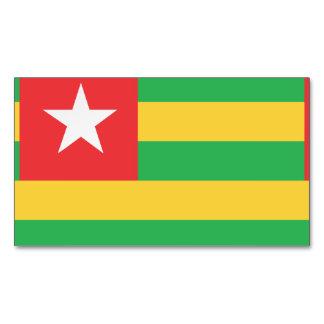 Bandera de Togo Tarjetas De Visita Magnéticas (paquete De 25)