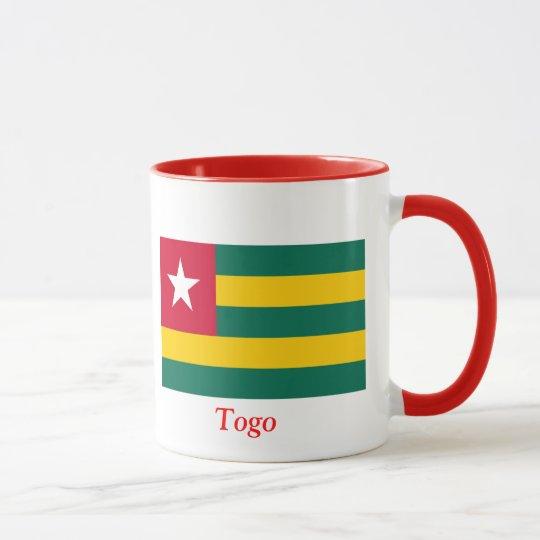 Bandera de Togo Taza