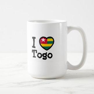 Bandera de Togo Taza Clásica