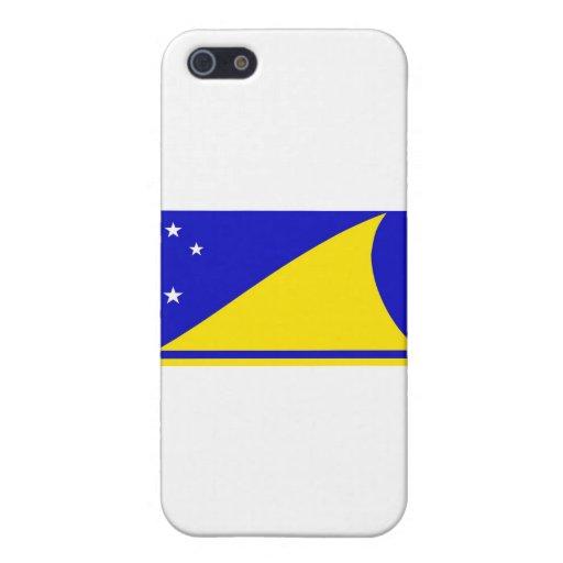 Bandera de Tokelau iPhone 5 Carcasas