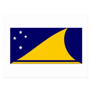 Bandera de Tokelau Tarjeta Postal