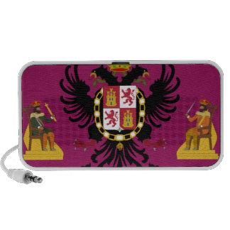 Bandera de Toledo (España) iPhone Altavoces