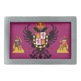 Bandera de Toledo (España) Hebillas Cinturon Rectangulares
