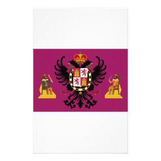 Bandera de Toledo (España) Papelería Personalizada