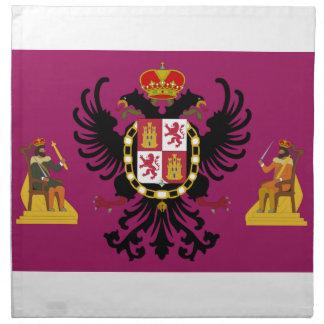 Bandera de Toledo (España) Servilletas