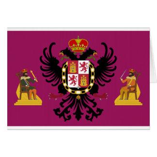 Bandera de Toledo (España) Tarjeton
