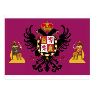 Bandera de Toledo (España) Tarjeta Postal