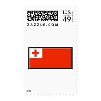 Bandera de Tonga Franqueo