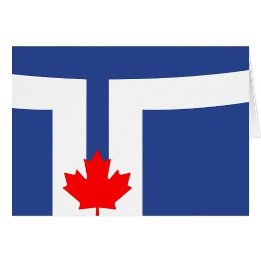 Bandera de Toronto Felicitacion