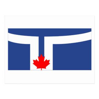 Bandera de Toronto Tarjetas Postales