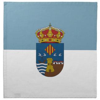 Bandera de Torrevieja (España) Servilleta